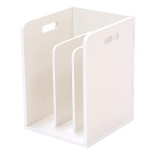 積み重ね可能ブックスタンド ホワイト 4個組 MM-6105WH hg-mm-6105wh|bookshelf