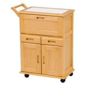 キッチンストッカーワゴン ナチュラル MW-3709NA hg-mw-3709na|bookshelf