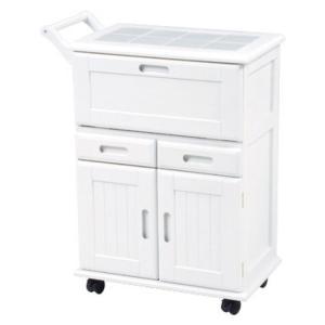 キッチンストッカーワゴン ホワイト MW-3709WH hg-mw-3709wh|bookshelf