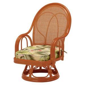 籐回転座椅子 ミドルタイプ 2脚組 RZ-029M hg-rz-029m bookshelf