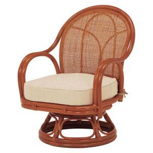 籐回転座椅子 ミドルタイプ 2脚組 RZ-342NA hg-rz-342na bookshelf