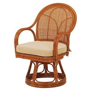 籐回転座椅子 ハイタイプ 2脚組 RZ-343NA hg-rz-343na bookshelf