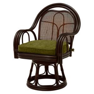 籐回転座椅子 ハイタイプ 2脚組 RZ-523DBR hg-rz-523dbr bookshelf