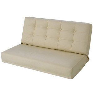 リクライニング座椅子 エンジェル W ダブル幅広2人掛け 合皮レザー アイボリー|bookshelf