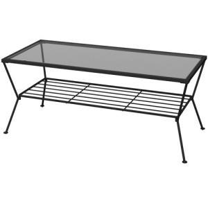 リビングテーブル ガーデン 幅90cm ガラステーブル センターテーブル リビングテーブル リビング テーブル ロー テーブル モダン シンプル|bookshelf