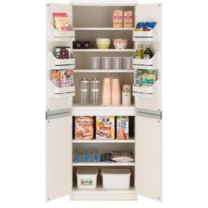 食器棚収納 レンジ台 カウンター キッチンストッカー棚 ホワイト|bookshelf