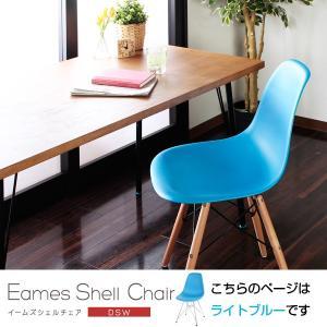 イームズ シェルチェア(DSR・DSW) ライトブルー 木脚 DSW 1402-na-lbl 椅子 いす イス チェアー ダイニングチェア リビングチェア デスクチェアー インテリア|bookshelf