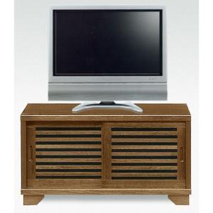 和風 テレビ台 NEW古都 幅90cm 高さ49cm ライトブラウン / テレビラック テレビボード 完成品 木製テレビ台 AVボード AV収納 AVラック AV機器|bookshelf