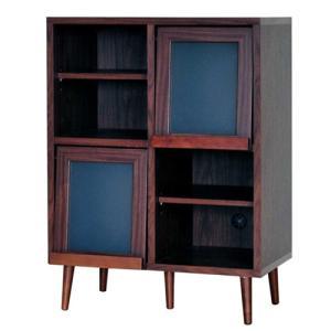 ディスプレイラック プレモ 幅74cm高さ98cm オープンラック 収納棚 フラップ扉 ディスプレイ ラック 棚 オープン収納棚 オープン棚 リビング収納 リビング|bookshelf