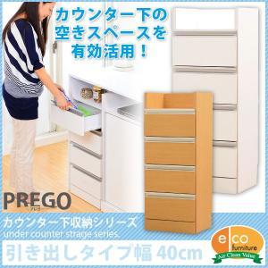 キッチンカウンター下収納 PREGO プレゴ- 引出しタイプ カウンタ bookshelf