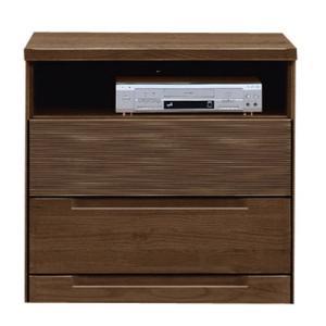 テレビ台 インパクト 幅80cm ダークブラウン|bookshelf
