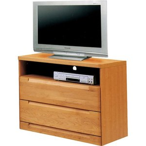 ハイタイプテレビ台 スカーレット 幅80cm高さ75cm ナチュラル|bookshelf