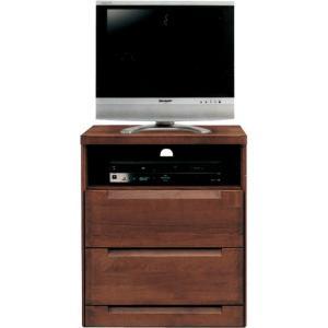 ハイタイプテレビ台 スカーレット 幅60cm高さ75cm ダークブラウン|bookshelf