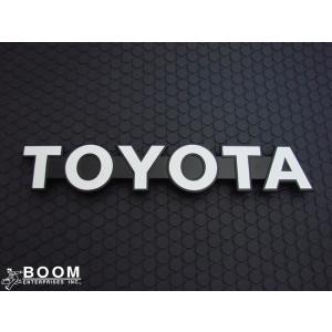 【GENUINE PARTS】フロント TOYOTA エンブレム トヨタ ランドクルーザー 70系の画像