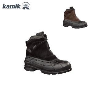 カミック シャンプラン Kamik CHAMPLAIN 1600226 メンズ スノーブーツ 男性用 長靴 スノートレ ファスナータイプ|boomsports-ec