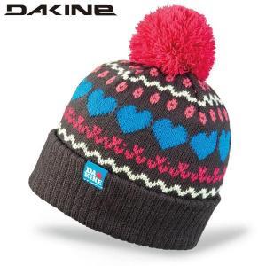 13-14 2014 DAKINE MAGGIE AD234911 CHARCOAL ビーニー ニット帽 ニットキャップ 帽子 ポンポン付|boomsports-ec
