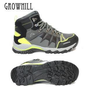 (送料無料)トレッキングシューズ GROWHILL グローヒル GTS500 25.5cm 26cm 26.5cm 27cm 27.5cm 28cm  ブラック|boomsports-ec