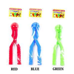 パンダマン 雪玉つくりき 雪合戦 雪玉製造に RED GREEN BLUE 赤 緑 青 即出荷 日本製|boomsports-ec