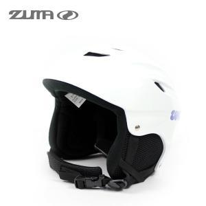 17-18 スキー ヘルメット ジュニア ZUMA ZH-JUNIOR WHT スキー スノーボード キッズ 子供用 プロテクター スキー学習|boomsports-ec