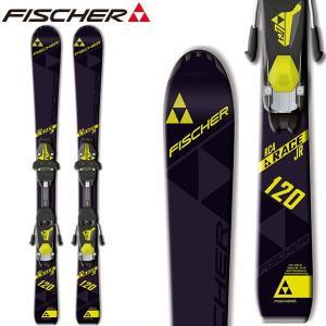 ジュニア スキー 2点セット フィッシャー FISCHER RC4 RACE JR. RAIL 子供用 スキー 金具付 ビンディング付 110cm-150cm 送料無料