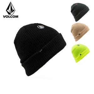 ボルコム スイープラインビーニー VOLCOM Sweep Lined Beanie 帽子 ニット帽 スノーボード J5851714|boomsports-ec