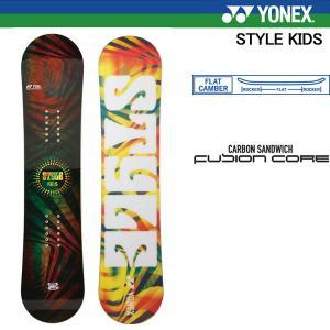 17 ヨネックス ジュニア スノーボード 板 スタイル キッズ YONEX STYLE KIDS 子供用 スノボ 板 型落ち アウトレットセール 日本正規品|boomsports-ec