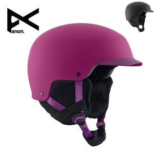 17-18 アノン エリア anon Women Aera Black/Purple/Like a Boss レディース ヘルメット 女性用 スノーボード スキー プロテクター 日本正規品|boomsports-ec