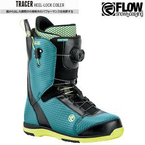 予約商品 17-18 フロー スノーボード ブーツ トレーサー 靴 FLOW TRACER HELL-LOCK COILER TEAL ヘリロックコイラー 2018 日本正規品 boomsports-ec