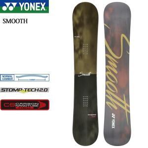 18 ヨネックス スムース YONEX SMOOTH メンズ スノーボード 板 キャンバー オールマ...