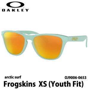 オークリー フロッグスキン XS OAKLEY Frogskins XS (Youth Fit) ライフスタイル  国内正規品 FROGSKINGS XS OJ9006-0653|boomsports-ec