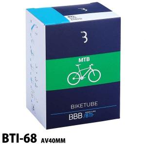 BBB BIKETUBE BTI-68 MTB 27.5×21.0/2.35 AV40MM 52/58-584 米式バルブ バイクチューブ|boomsports-ec