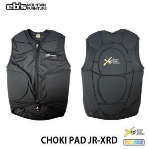 プロテクター キッズ 20-21 eb's Choki Pad Jr XRD プロテクター チョキ パッド ジュニア 子供用 スノーボード プロテクター|boomsports-ec