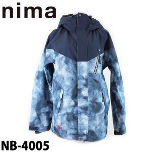 ニマ メンズ スノボ ジャケット スノーボード スキー スノーウェア nima NB-4005 男性用 日本正規品|boomsports-ec