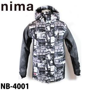 ニマ メンズ スノボ ジャケット スノーボード スキー スノーウェア nima NB-4001 男性用 日本正規品|boomsports-ec