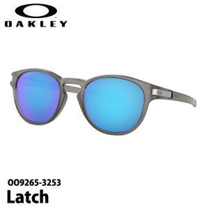 オークリー ラッチ OAKLEY Latch OO9265-3253 PRIZM Polarized ライフスタイル サングラス プリズム 偏光 日本正規品|boomsports-ec