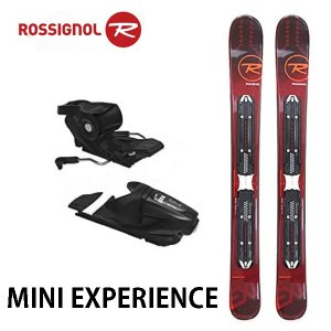 ロシニョール スキー板 ミニスキー ROSSIGNOL MINI EXPERIENCE 99cm ビンディング付き スキーセット|boomsports-ec
