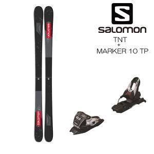 19-20 サロモン スキー板 ビンディング付 SALOMON TNT + MARKER 10 TP...