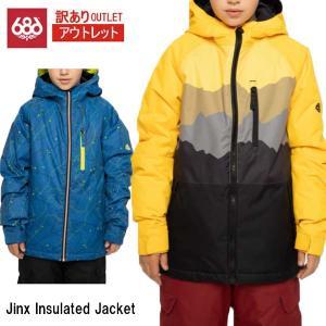 訳あり 20-21 アウトレット ジャケット ウェア キッズ ジュニア シックスエイトシックス 686 Smarty Jinx Insulated Jacket M0W505 2021 スノーボード|boomsports-ec