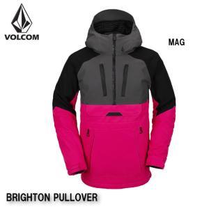 ボルコム ウェア ジャケット 20-21 VOLCOM BRIGHTON PULLOVER MAG G0652106 プルオーバー ジャケット 2021 日本正規品|boomsports-ec