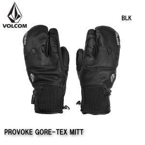 早期予約 20-21 VOLCOM PROVOKE GORE-TEX MITT J6852102 ボルコム グローブ ミトン 手袋 スノーボード メンズ 男性用 2021|boomsports-ec