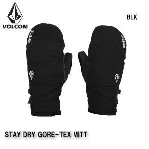 早期予約 20-21 VOLCOM STAY DRY GORE-TEX MITT J6852105 ボルコム グローブ ミトン 手袋 スノーボード メンズ 男性用 2021|boomsports-ec