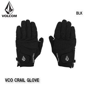 早期予約 20-21 VOLCOM VCO CRAIL GLOVE J6852109 ボルコム グローブ 手袋 スノーボード メンズ 男性用 2021|boomsports-ec