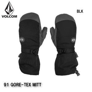 早期予約 20-21 VOLCOM 91 GORE-TEX MITT J6852111 ボルコム グローブ ミトン 手袋 スノーボード メンズ 男性用 2021|boomsports-ec