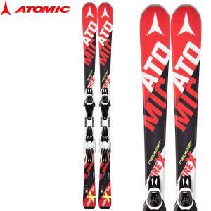 アトミック レッドスターファイバーエックス スキーセット Atomic RED STER FIBER-X+LITHIUM 10 156cm/163cm メンズ 2点セット 大人用 ビンディング付 2016-17|boomsports-ec