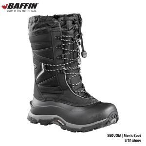 18-19 バフィン セコイア メンズ BAFFIN SEQUOIA LITE‐M009 black 男性用 防寒ブーツ スノーブーツ 2019|boomsports-ec