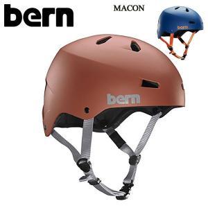 バーン メーコン bern MACON メンズ BMX クロスバイク ロードバイク スキー スノーボード ヘルメット 男性用 大人用 プロテクター|boomsports-ec