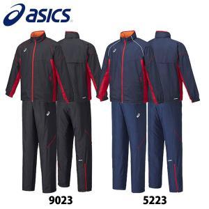 アシックス ウィンドブレーカー モーションサーモ シャツ パンツ asics 大人用 トレーニングウェア 大きいサイズ 上下セット 日本正規品|boomsports-ec