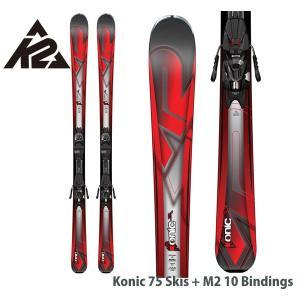 ケーツー K2 コニック KONIC 75 QUIKCIK M2 10 金具付 ユニセックス スキーセット 大人用 送料無料 日本正規品|boomsports-ec