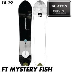 予約商品 18-19 バートン ミステリーフィッシュ ボード Burton FT MYSTERY FISH Family Tree スノーボード スノボ 板 メンズ 男性用 2019 The Channel|boomsports-ec
