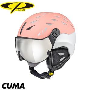 シーピー クーマ CP CUMA スキー スノボ スノーボード バイザー ヘルメット  ベンチレーション プロテクター|boomsports-ec